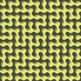 labyrint Naadloos patroon Vector illustratie Royalty-vrije Stock Fotografie