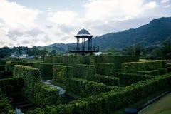 Labyrinten och dess hjärta Royaltyfria Foton
