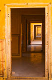 Labyrinth. Of doors in Nahargarh fort Royalty Free Stock Photography