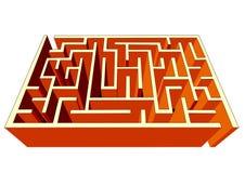 Labyrinth stockfoto