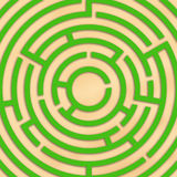 Labyrinth. Ps illustration vector illustration