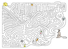 Labyrinth. Royalty Free Stock Photo