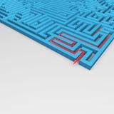 Labyrinth Stockfotos