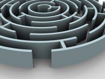 Labyrinth. Stock Image