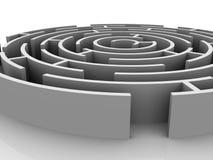Labyrinth. Royalty Free Stock Photo
