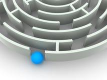 Labyrinth. Lizenzfreie Stockfotos