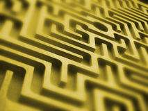 Labyrinth. Texture Stock Images