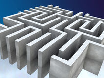 Labyrinth. Illustration Royalty Free Stock Image