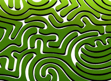 Labyrinth. Vector illustration, AI files included vector illustration