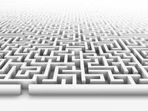 Labyrinth stock illustration
