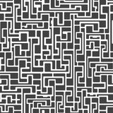 Labyrinth abstract seamless Stock Photos