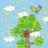 Labyrinth - bird Stock Images