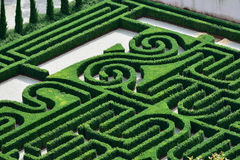Labyrinth. The Borges Labyrinth in Venice, Island of San Giorgio Maggiore, Giorgio Cini Foundation, Italy, Europe Royalty Free Stock Images