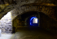 The Labyrinth of Buda Castle Royalty Free Stock Images