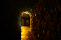 The Labyrinth of Buda Castle Stock Images