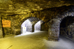 The Labyrinth of Buda Castle Royalty Free Stock Photos