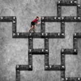 Labyrinth business concept Stock Photography