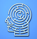Labyrinth 3D Stock Photography
