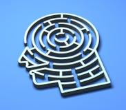 Labyrinth 3D Royalty Free Stock Photo