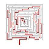 Labyrinth/maze Stock Photo