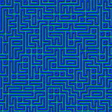 Labyrinth maze background Stock Photography