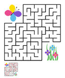 Labyrinth, maze conundrum for kids Royalty Free Stock Photography