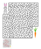 Labyrinth, maze conundrum for kids Stock Photo