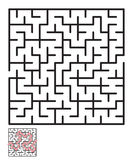 Labyrinth, maze conundrum for kids Stock Images
