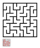 Labyrinth, maze conundrum for kids Royalty Free Stock Image