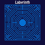 Labyrinth Maze Royalty Free Stock Photo