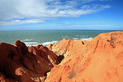 The Labyrinth morro branco ceara brazil Stock Image