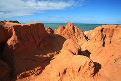 The Labyrinth morro branco ceara brazil Royalty Free Stock Photos