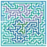 Labyrinth oder Labyrinth Lizenzfreie Stockfotos