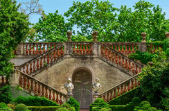 Labyrinth Park of Horta in Barcelona, Catalonia, Spain. Royalty Free Stock Photo
