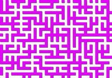 Labyrinth pattern Stock Photo