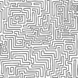 Labyrinth pattern Royalty Free Stock Images