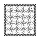 Labyrinth - post stamp Royalty Free Stock Image