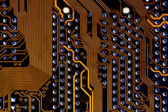 Labyrinth - printed circuit Stock Photo