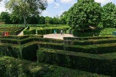 Labyrinth Schonbrunn, Wien Lizenzfreie Stockfotografie