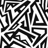 Labyrinth seamless pattern. (eps 10 vector file Royalty Free Illustration
