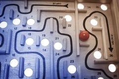 Labyrinth-Spiel stockfotografie