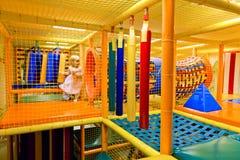 Labyrinth-Spielplatz Lizenzfreie Stockbilder