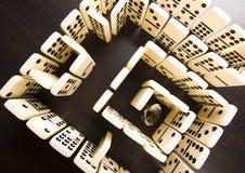 Labyrinth u. Diamant Stockfotografie