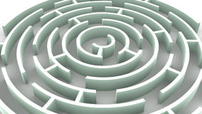 Labyrinth. Royalty Free Stock Image