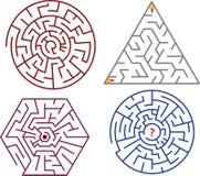Labyrinthansammlungen Lizenzfreie Stockfotografie