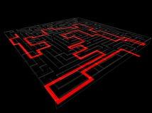 Labyrinthe Photo libre de droits