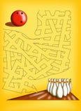 Labyrinthe 19 illustration de vecteur