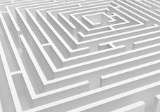 Labyrinthe Photos libres de droits