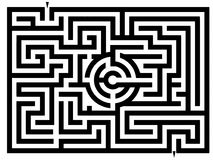 Labyrinthe Photo stock