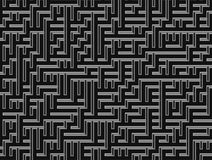 Labyrinthe abstrait de fond Photos libres de droits